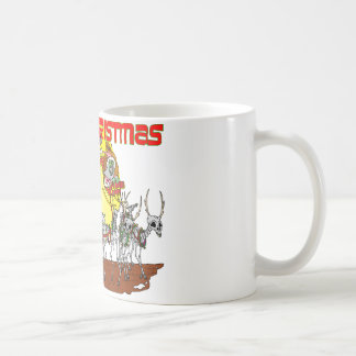 Zombie Santa Delivery Coffee Mug