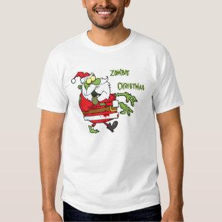 Zombie Santa T Shirt