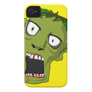 Zombie Scary Dead Halloween Face Cartoon Case-Mate iPhone 4 Cases