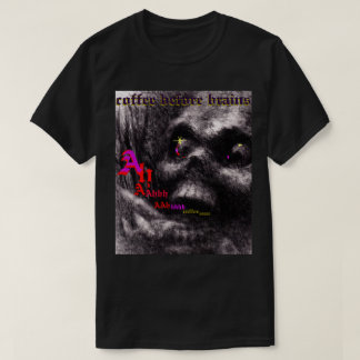 Zombie Scream, Coffee Before Brains! original T-Shirt