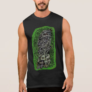 Zombie Sergeant, by Brian Benson Sleeveless Shirt