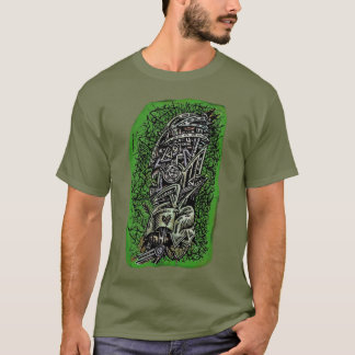 Zombie Sergeant, by Brian Benson T-Shirt