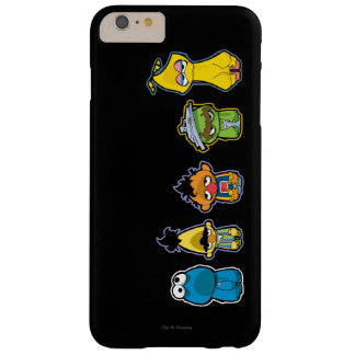 Zombie Sesame Street Characters Barely There iPhone 6 Plus Case