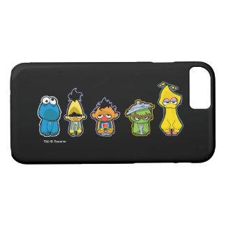 Zombie Sesame Street Characters iPhone 7 Case