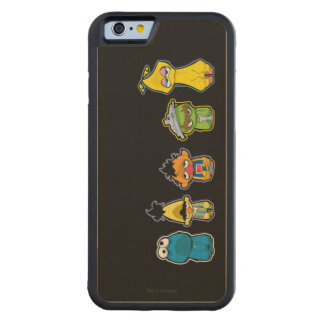 Zombie Sesame Street Characters Maple iPhone 6 Bumper Case