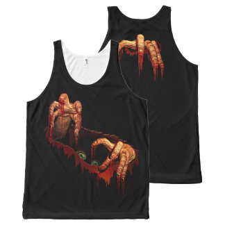 Zombie Shirt Halloween Costume Scary Tops