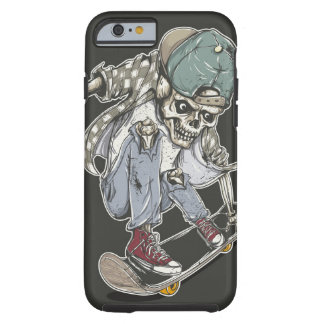 zombie skateboard. tough iPhone 6 case