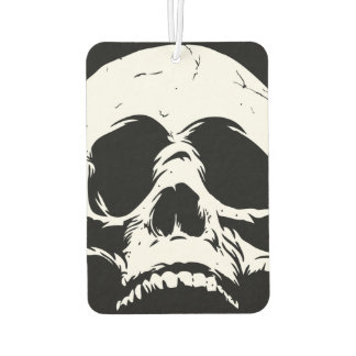 Zombie Skull Face Car Air Freshener