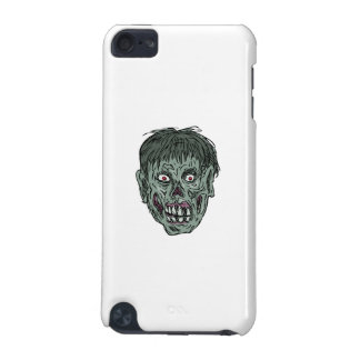 Zombie Skull Head Drawing iPod Touch (5th Generation) Cases