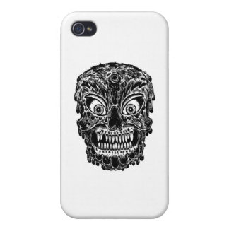 zombie skull iPhone 4/4S cover