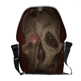 ZOMBIE SKULL COURIER BAGS