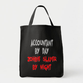 Zombie Slayer Accountant Bags