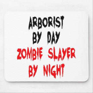 Zombie Slayer Arborist Mouse Pad