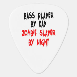 Zombie Slayer Bass Player Plectrum