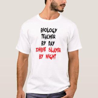 Zombie Slayer Biology Teacher T-Shirt