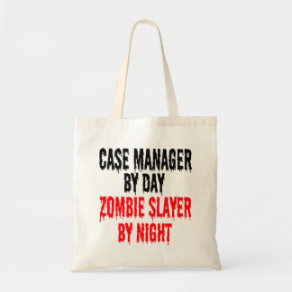 Zombie Slayer Case Manager Budget Tote Bag