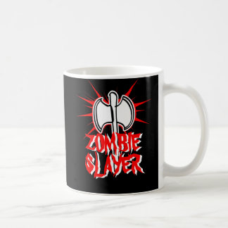 Zombie slayer coffee mug