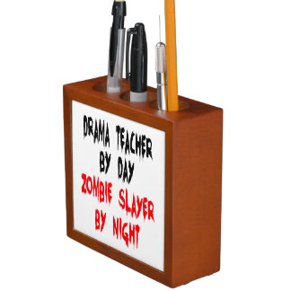 Zombie Slayer Drama Teacher Desk Organisers