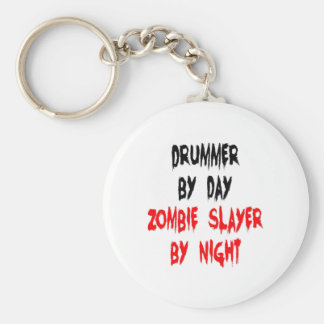Zombie Slayer Drummer Key Ring