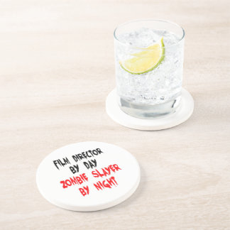 Zombie Slayer Film Director Drink Coasters