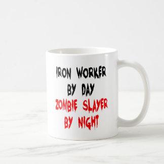 Zombie Slayer Iron Worker Coffee Mug