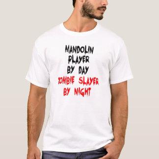 Zombie Slayer Mandolin Player T-Shirt