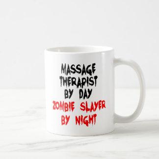 Zombie Slayer Massage Therapist Coffee Mug
