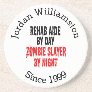 Zombie Slayer Rehab Aide Coaster