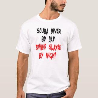 Zombie Slayer Scuba Diver T-Shirt