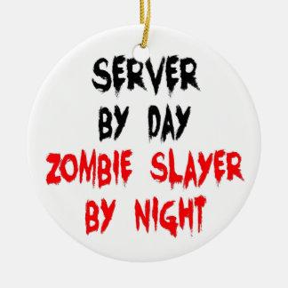 Zombie Slayer Server Christmas Tree Ornament