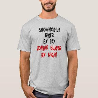 Zombie Slayer Snowmobile Rider T-Shirt