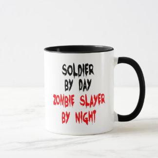 Zombie Slayer Soldier Mug
