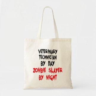 Zombie Slayer Veterinary Technician Budget Tote Bag
