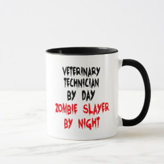 Zombie Slayer Veterinary Technician Mug