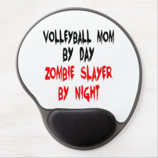 Zombie Slayer Volleyball Mom Gel Mouse Pad