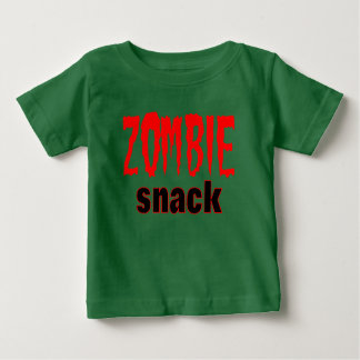 zombie snack funny t shirt