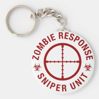 Zombie Sniper Keychain