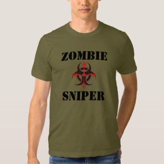 Zombie Sniper T-Shirt (For Lighter Color Shirts)