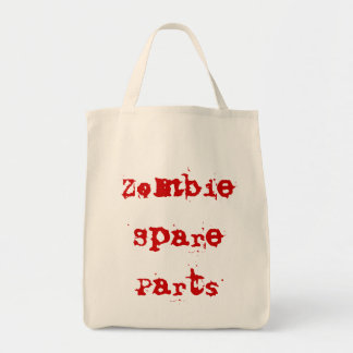 Zombie Spare Parts Grocery Bag