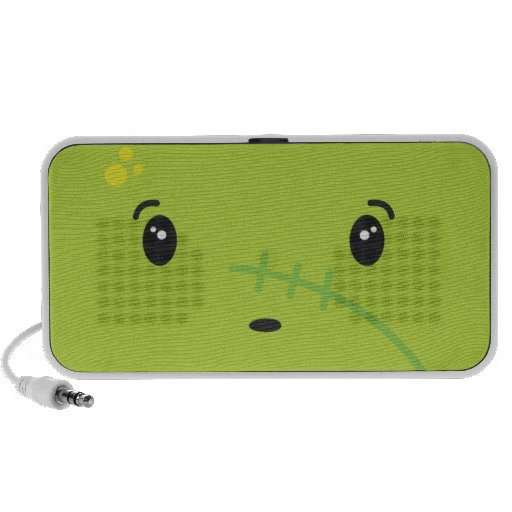 zombie notebook speakers