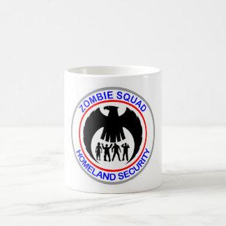 Zombie Squad Homeland Security Basic White Mug