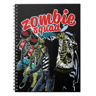 Zombie Squad Spiral Notebook