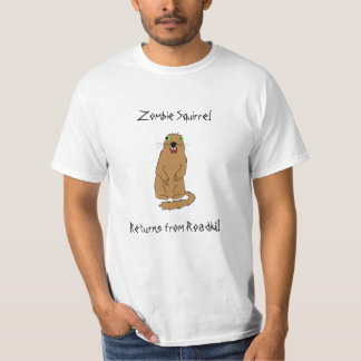 Zombie Squirrel T-Shirt