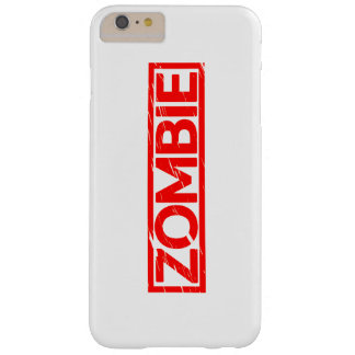 Zombie Stamp Barely There iPhone 6 Plus Case