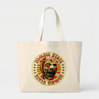 Zombie State Tote Bags