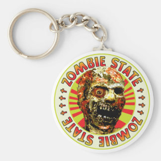 Zombie State Key Chains