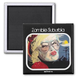 'Zombie Suburbia' Magnet