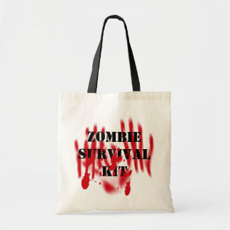 Zombie Survival Kit Tote Bag