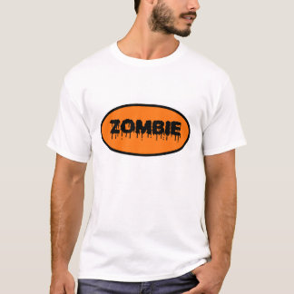 """Zombie"" T-Shirt (orange)"
