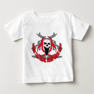 Zombie tactical red tee shirts